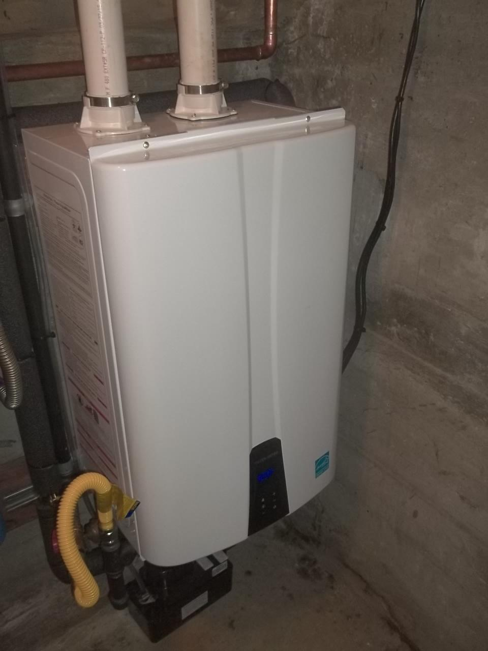 tankless water heater east bay CA