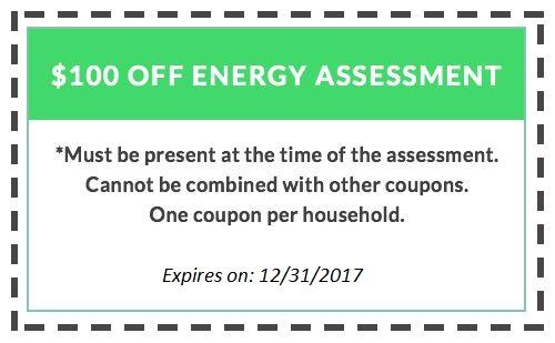 $100 off Energy Assessment