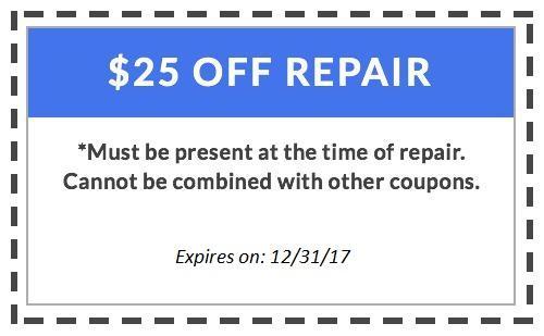 $25 off HVAC Repair