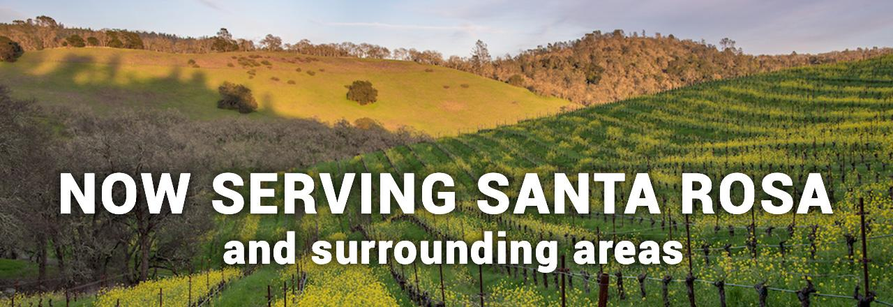 Hassler HVAC is now serving Santa Rosa, CA - and the surrounding areas!