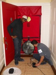 blower door test El Cerrito Ca