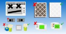 emergency ac repair kit checklist infographic header hassler