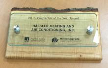 2015 PGE Contractor of the Year