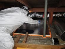air sealing energy savings