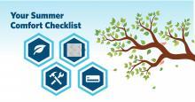 summer comfort prep checklist hassler