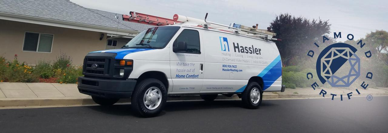 diamond certified hassler truck